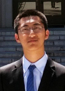 Weikeng Chen at McLaughlin Hall in 2017